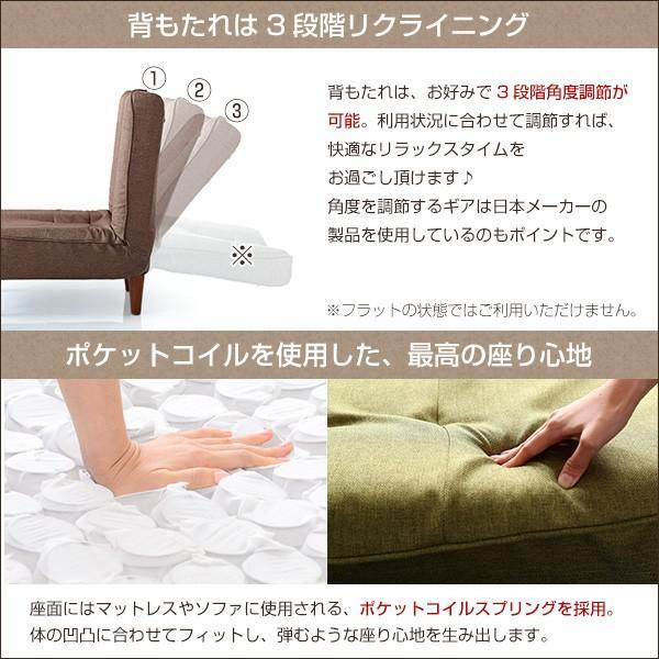 9%OFFクーポン対象)1人掛ハイバックソファ(布地)ローソファにも、ポケットコイル使用、3段階リクライニング 日本製|lemmik-レミック-|koreene|05