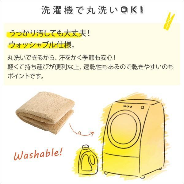 ふわふわシャギーラグマットMサイズ(190×190cm)洗えるラグマット、お手入れも簡単|エノーテ|koreene|05