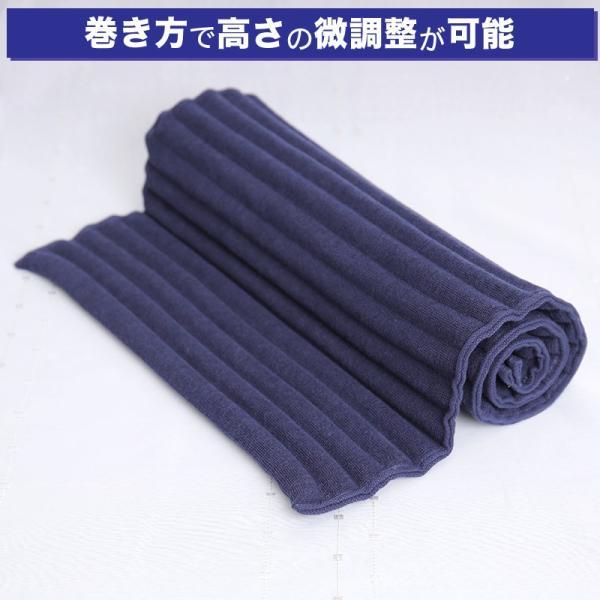首こり 肩こり ストレートネックでお悩みの方におすすめの枕 コリ吉ロール (ショートタイプ)|koriyoshi-roll|06