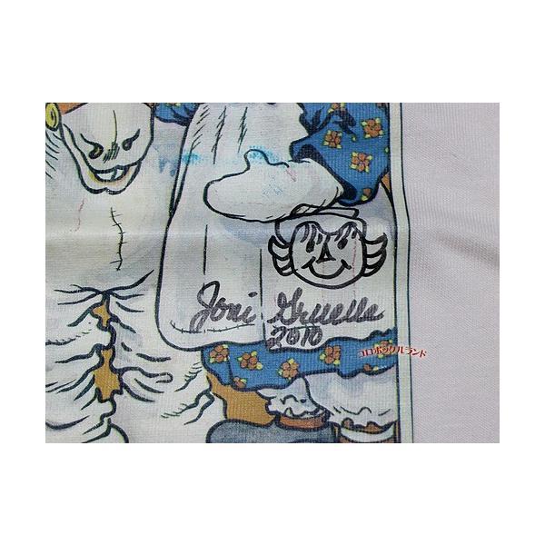 サイン入り95周年記念Tシャツ(キャメルナチュラル)■ゆうパケット発送OK koromini 04