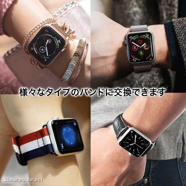 アップルウォッチ バンド ベルト交換アダプター ラグ ステンレススチール AP Apple Watch用バンド交換 38mm 40mm 42mm 44mm 送料無料|koruha-store|09