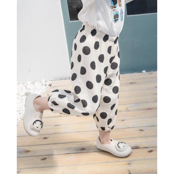 子供服 おしゃれ 韓国 安い 男の子 女の子 ドット柄 パンツ|koruha-store|14