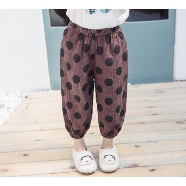 子供服 おしゃれ 韓国 安い 男の子 女の子 ドット柄 パンツ|koruha-store|15