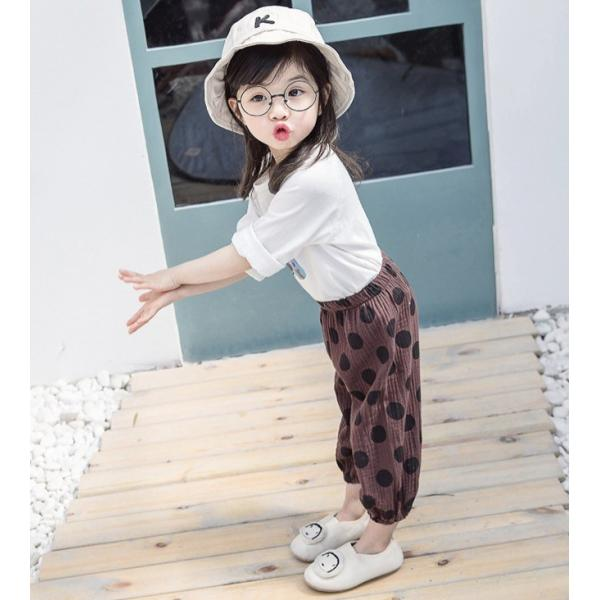 子供服 おしゃれ 韓国 安い 男の子 女の子 ドット柄 パンツ|koruha-store|16