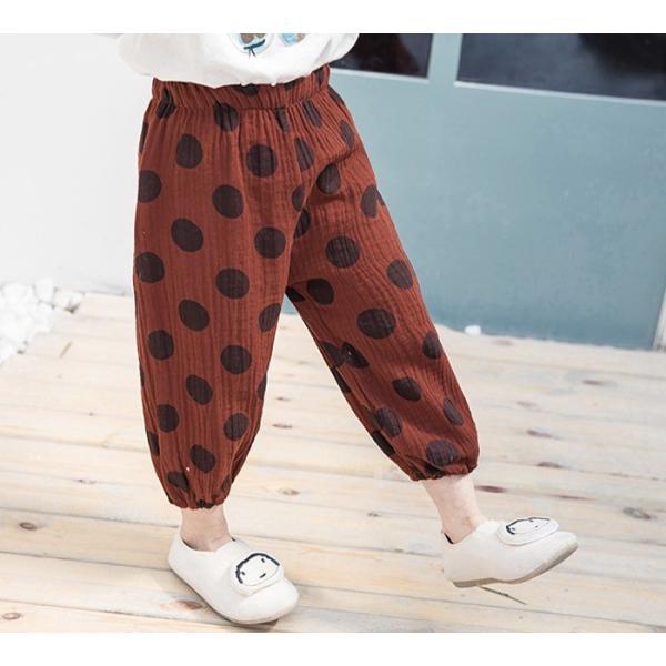 子供服 おしゃれ 韓国 安い 男の子 女の子 ドット柄 パンツ|koruha-store|17