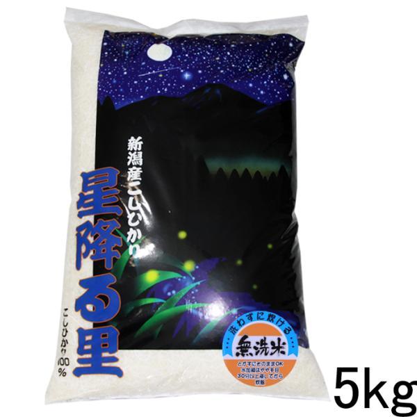 新潟県産 コシヒカリ 5kg 無洗米 お米 特Aコシヒカリ5キロ 令和2年 コシヒカリ無洗米5kg