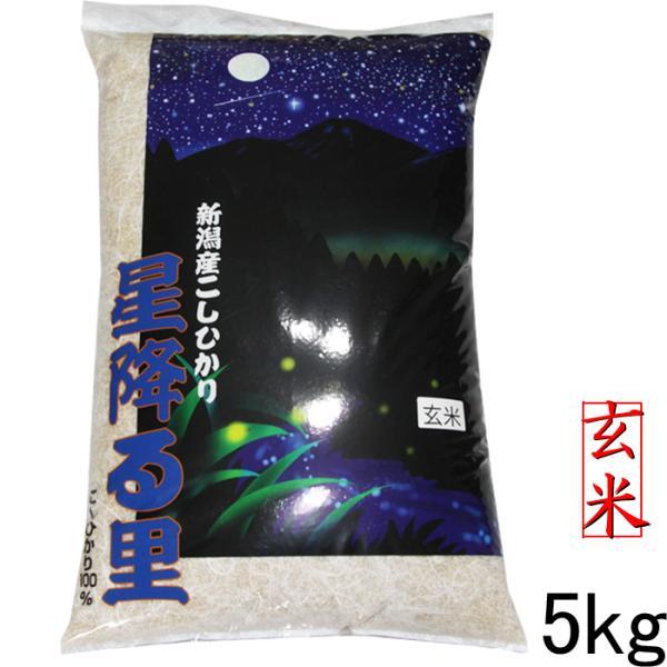 特A玄米5kg新潟産コシヒカリ5kg令和2年玄米5キロこしひかり産地直送美味しいお米玄米5kgコシヒカリ5キロ玄米農家
