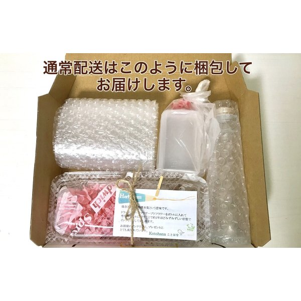 ハーバリウム キット 花材 あじさい 12種類から選べる プリザーブドフラワーキット ドライフラワー|kotohana|05