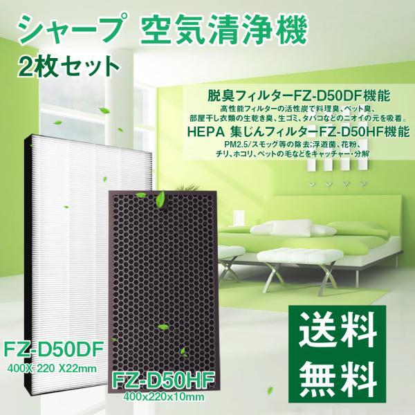 |【期間限定価格】シャープ空気清浄機対応フィルター HEAP集じんフィルターfz-d50hf(1枚)…