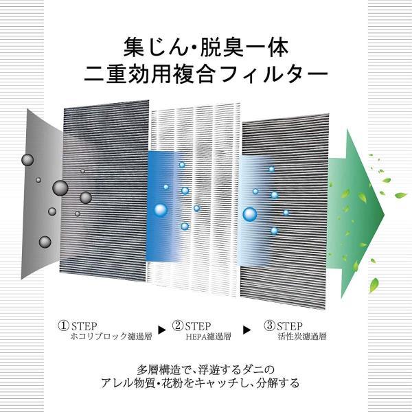 空気清浄機フィルター  FZ-Y30SF FZY30SF  花粉 集じん・脱臭一体型フィルター 互換品 対応型番: FZ-Y30SF fzy30sf(1枚)|kotoshopping|03