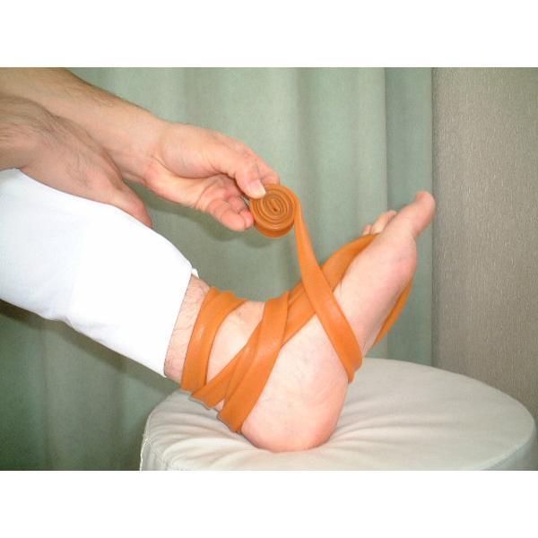バラコンバンドL(大)3m+S(小)2mのセット ゴムバンド 骨盤矯正用 腰痛 ぎっくり腰 ヘルニア 坐骨神経痛 股関節痛など実績33年目の治療院 kotuban 05