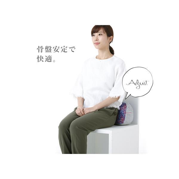 骨盤 クッション 腰痛 オフィス デスクワーク ランバーサポート 腰当て 背当て ジムファブ JIMU fab 骨盤ホールドクッション|kotubanshop|02
