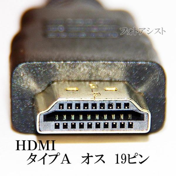 HDMI ケーブル HDMI (Aタイプ)-ミニHDMI端子(Cタイプ) 1.4規格対応 3.0m ・金メッキ端子 (イーサネット対応・Type-C・mini) 送料無料【メール便の場合】