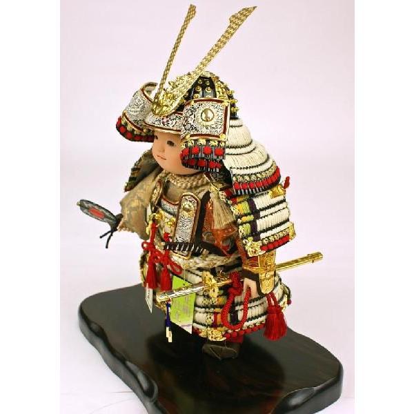 五月人形 初節句 子供大将飾り 武者人形 子供の日 端午の節句 送料無料 「健 (着 褄取)」 おしゃれ オシャレ koubou-tensho 05