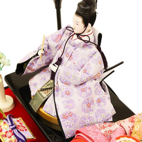 雛人形 ひな人形 コンパクト 吉徳大光作 ケース飾り 親王飾り 「人形工房天祥×吉徳大光 オリジナル限定 ひな人形 ケース入り アクリルケース オルゴール付」|koubou-tensho|11