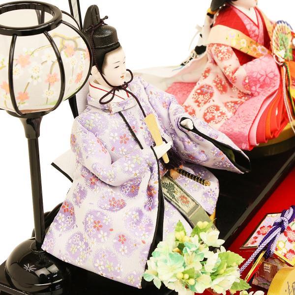 雛人形 ひな人形 コンパクト 吉徳大光作 ケース飾り 親王飾り 「人形工房天祥×吉徳大光 オリジナル限定 ひな人形 ケース入り アクリルケース オルゴール付」|koubou-tensho|12