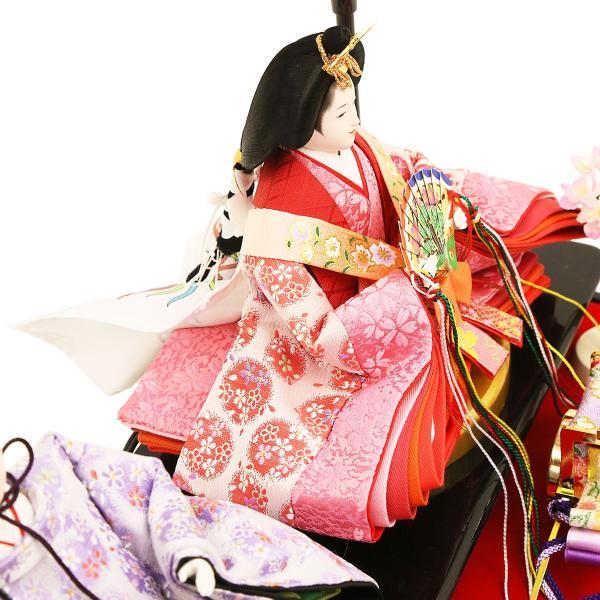 雛人形 ひな人形 コンパクト 吉徳大光作 ケース飾り 親王飾り 「人形工房天祥×吉徳大光 オリジナル限定 ひな人形 ケース入り アクリルケース オルゴール付」|koubou-tensho|10