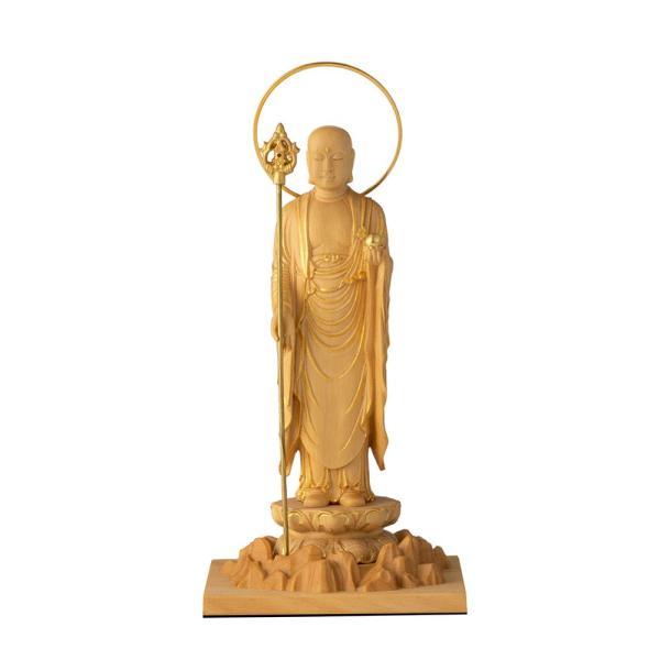 RIYAK ベーシック BASIC  コンパクト 小さめ 地蔵菩薩 子供の守り神として広く親しまれる 仏像 木彫り フィギュア オブジェ 雑貨 縁起物 インテリア仏像 リヤク