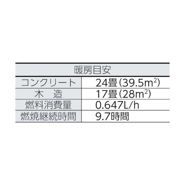 トヨトミ 電子点火式対流型石油ストーブ  KS-67H4103|kouei-sangyou|03