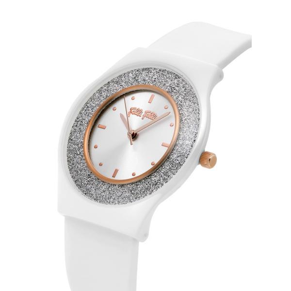 2年保証 送料無料 FolliFollie フォリフォリ 腕時計 レディース Sparkling Sand Ceramic WF16F043ZPSWH WF16F043ZPS-WH セラミック ホワイト ラバー クォーツ