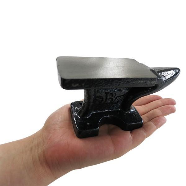 アンビル ミニ 金床 0.9kg 鉄床 クラフト 手のひらサイズ アクセサリー製作向け|kougudirect|07