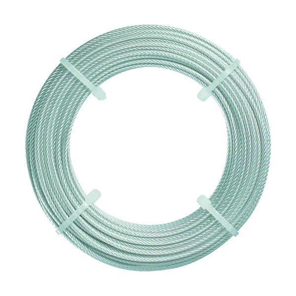 トラスコ ステンレスワイヤロープ Φ2.0mmX20m (1巻) 品番:CWS-2S20