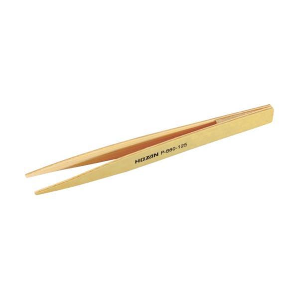 HOZAN 竹ピンセット125mm (1本) 品番:P-860-125