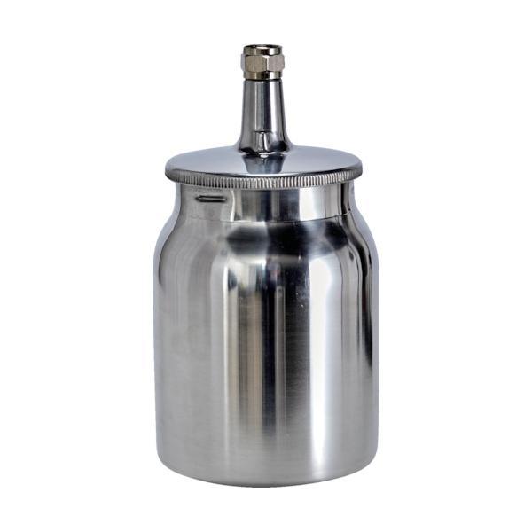 トラスコ 塗料カップ 吸上式用 容量1.0L 取付G3/8 (1個) 品番:SC-10-3