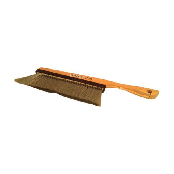 スタック ハンド木柄除電ブラシ (1本) 品番:STAC200