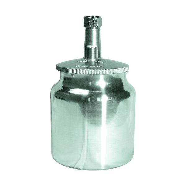 デビルビス 吸上式塗料カップアルミ製(容量700CC)G3/8 (1個) 品番:KR-470-1