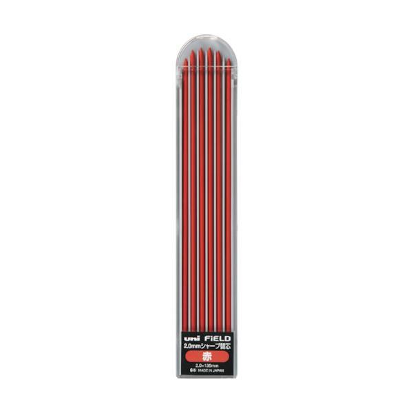 uni フィールド建築用2.0mmシャープ替芯 赤 (1Pk) 品番:U203101P.15
