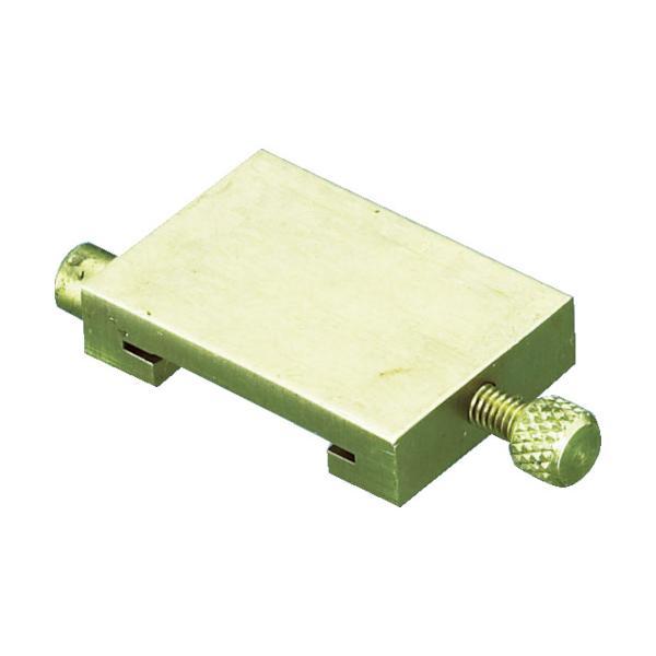 トラスコ 直尺用ストッパー 真鍮 1m用 (1個) 品番:TSD-100N
