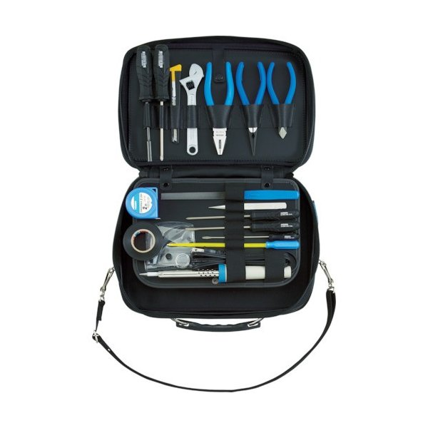 HOZAN 工具セット ショルダー工具セット16点 (1S) 品番:S-7
