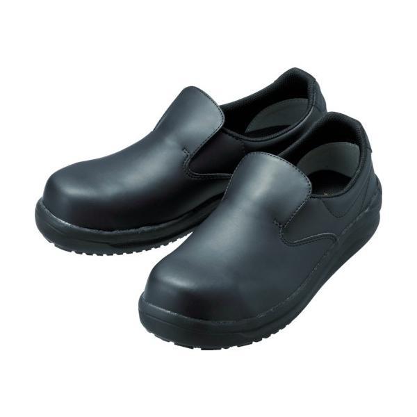 ミドリ安全 ワイド樹脂先芯入り超耐滑軽量作業靴 ハイグリップ 26.5CM (1足) 品番:NHS600-BK-26.5