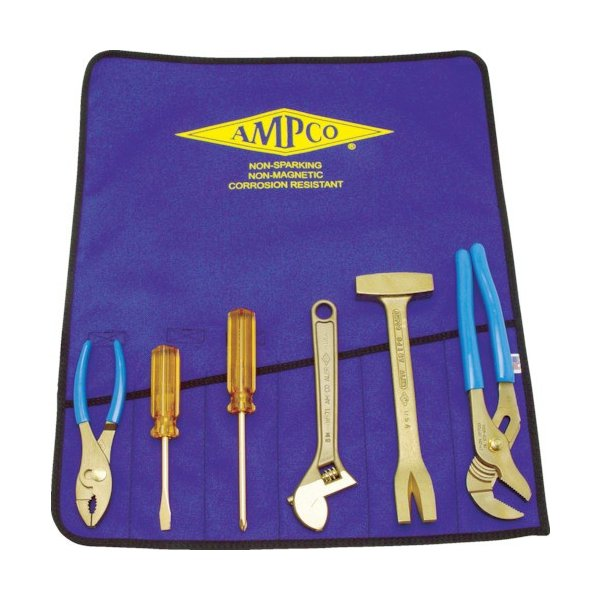 Ampco 防爆6ピース工具セット (1S) 品番:AMCM-47