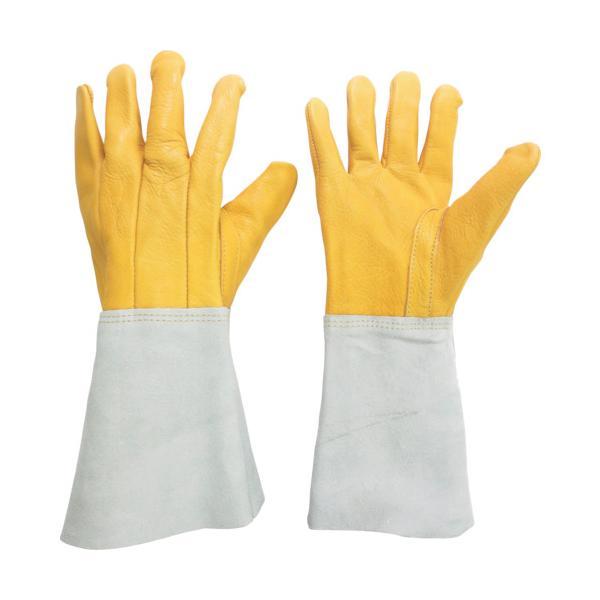ミドリ安全 溶接用 牛革手袋 MT−107D−5P (1双) 品番:MT-107D-5P