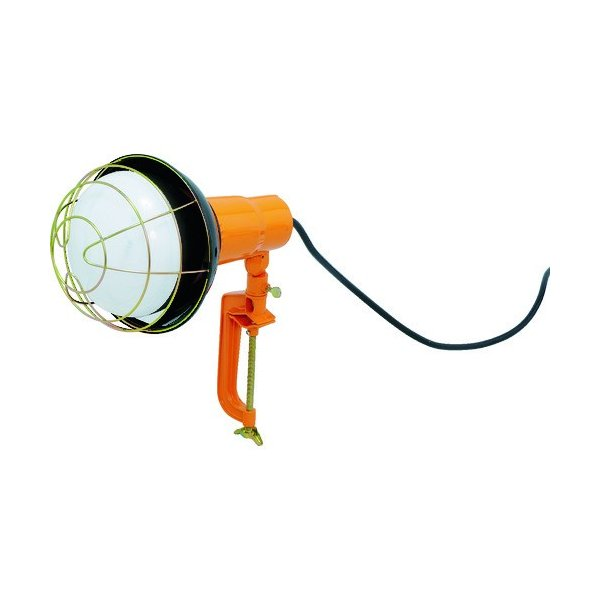 IRIS クランプ式交換電球型投光器5500lm (1台) 品番:LWT-5500CK