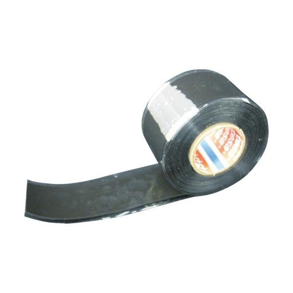 テサテープ 自己融着テープ ブラック 25mmx3m 4600BK-3
