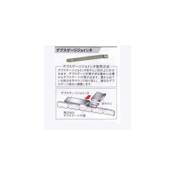 リョービ(RYOBI)チェンソー・エンジンチェンソー用デプスゲージジョインタコード6155595