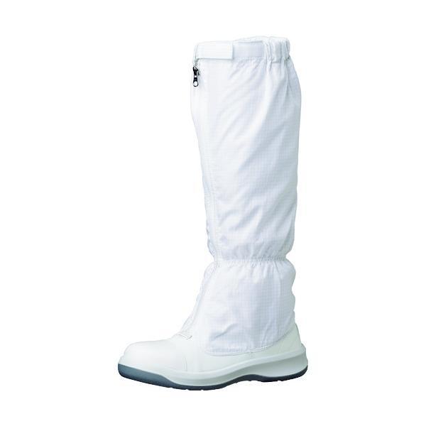 ミドリ安全 トウガード付 静電安全靴 GCR1200 フルCAP フード ホワイト 24.0cm GCR1200FCAP-H-24.0
