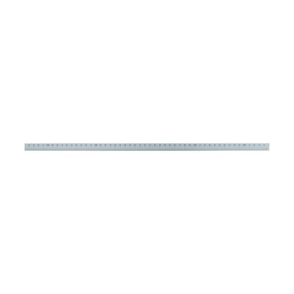 シンワ マシンスケール500mm下段左右振分目盛穴無 14163
