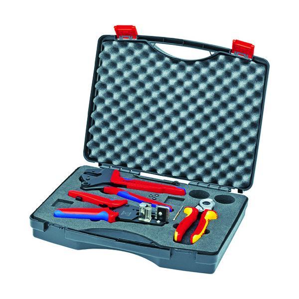 KNIPEX 9791−01 太陽光発電用工具セット 3点 9791-01
