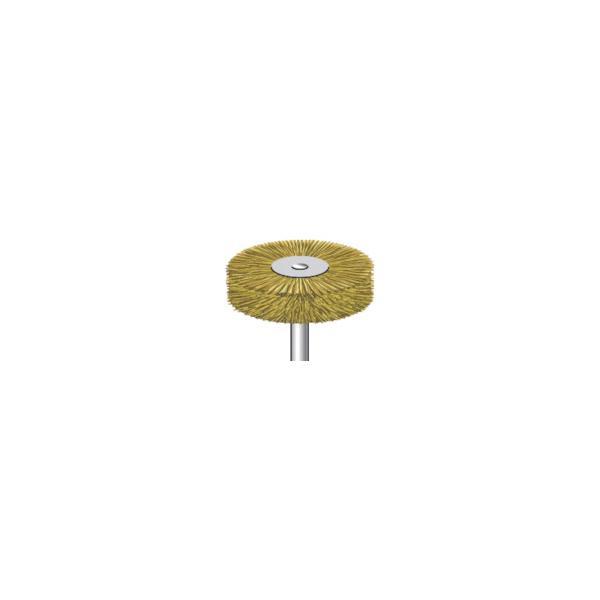 ナカニシ ワイヤーブラシ特厚真鍮  (5本入) 50467