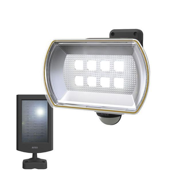 ライテックス ライテックス S-80L 8Wワイド LEDソーラーセンサーライト S-80L≪お取寄商品≫