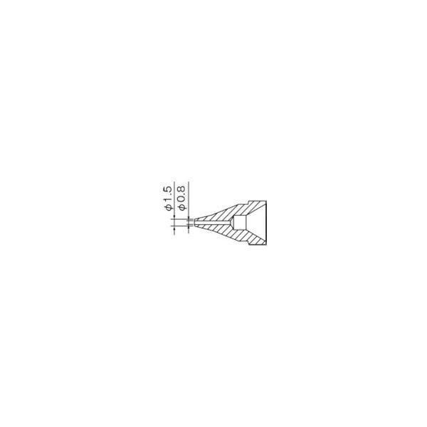 白光 SS型 ノズル/0.8mm N6102