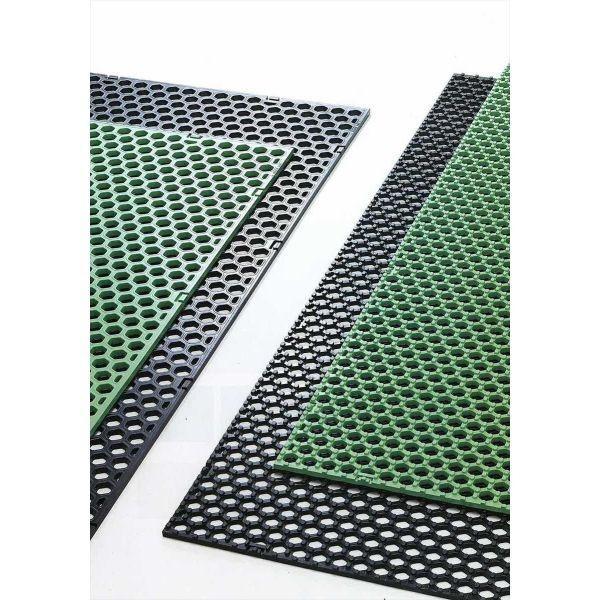 グラスマットGHS グリーン 8mm厚×1000mm幅×1000mm (代引き不可・法人名にてご注文下さい)芝生養生マット  芝生 養生 マット 芝生マット 養生マット