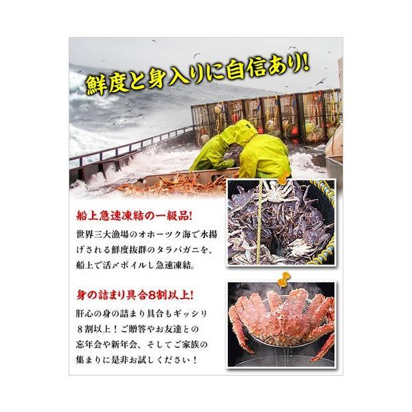 カニ かに 蟹 タラバガニ 超特大 超極太 たらばがに 足 1.5kg 1肩 シュリンク包装 送料無料 kouragumi 05