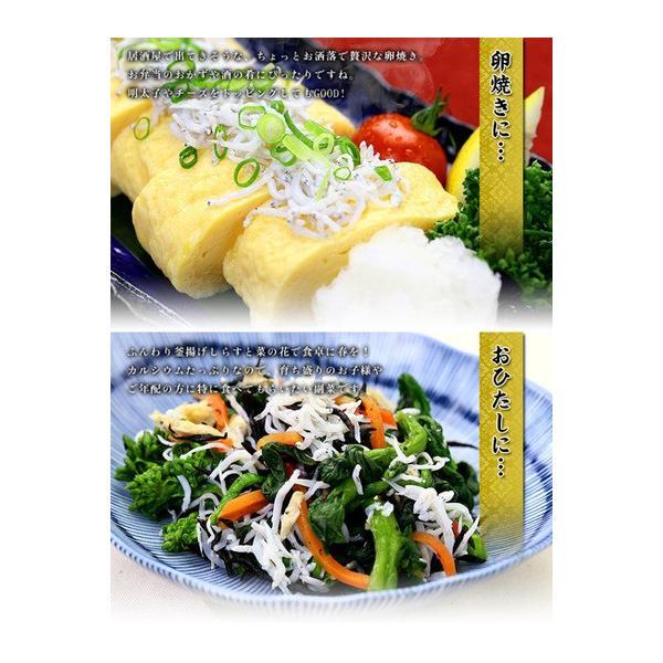 (シラス しらす) 無添加&無漂白の一級品! 静岡県産 釜揚げしらす 業務用たっぷり1kg 食べ放題|kouragumi|05