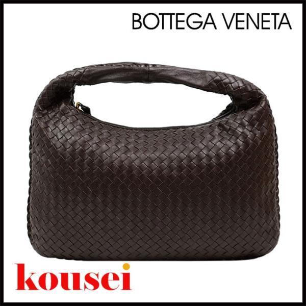 BOTTEGA VENETA ボッテガヴェネタ イントレチャート ワンショルダーバッグ レザー ブラウン ギフトラッピング無料!