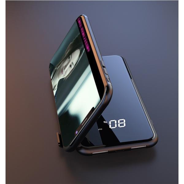 モバイルバッテリー Qi ワイヤレス充電器 10000mAh 薄型 大容量 軽量  LED 残量表示 iPhoneX iPhone X iPhone8 Galaxy S6 S7 S8 S8+ など対応|kouseisyouten|15